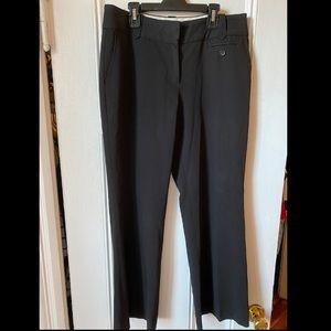 Loft black work pants